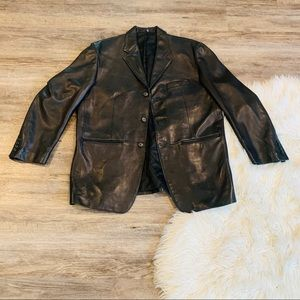 Ralph Lauren Lamb leather men's jacket